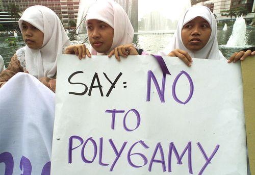 Polygamy-no