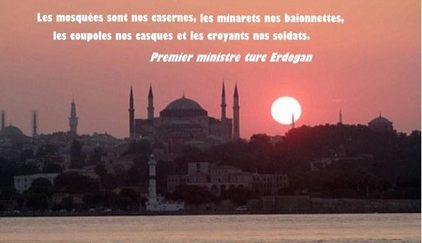 Minarets erdogan