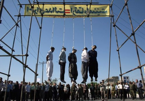 Iran-publichanging