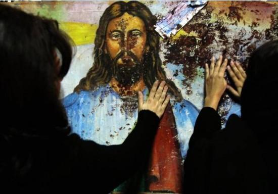 Copts attack