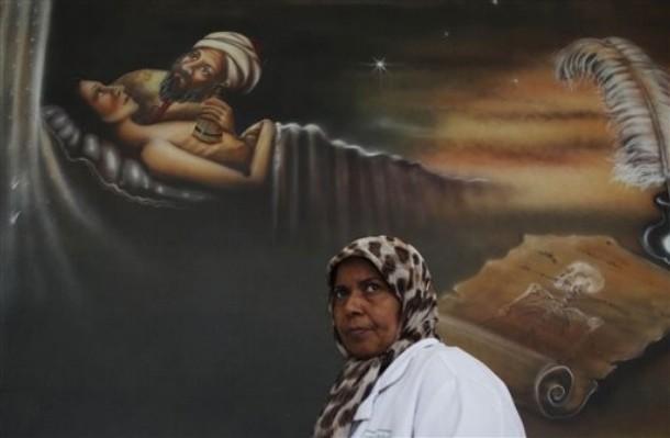Libya-mural