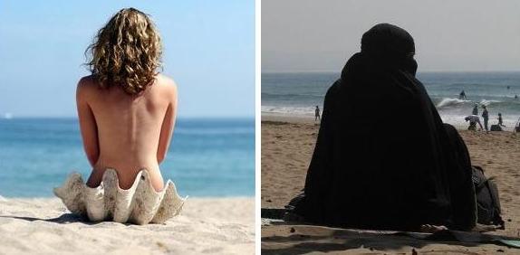 Plage-nudisme-burqa