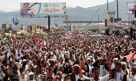 Yemen-Anti-government-protester