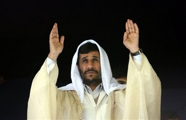 Ahmadinejad_praising_the_al_mahdi
