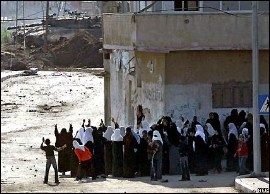 Gaza-women-shield