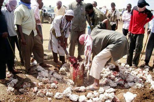 Stoning victim