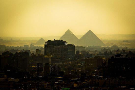 Egypte-Cairo-Pyramids-View