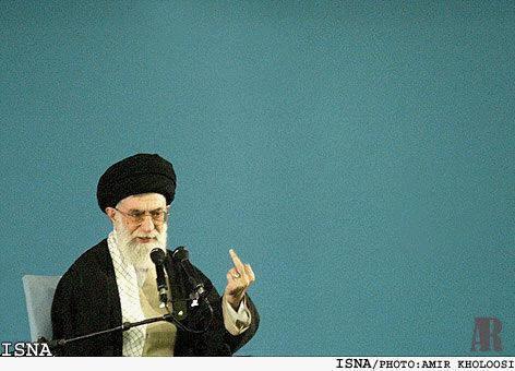 Khamenei-finger