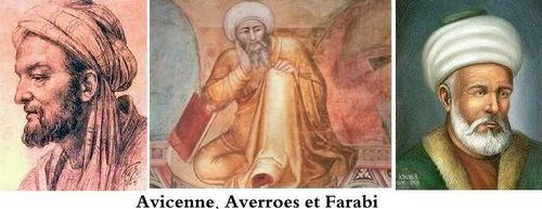 Avicenne averroes farabi