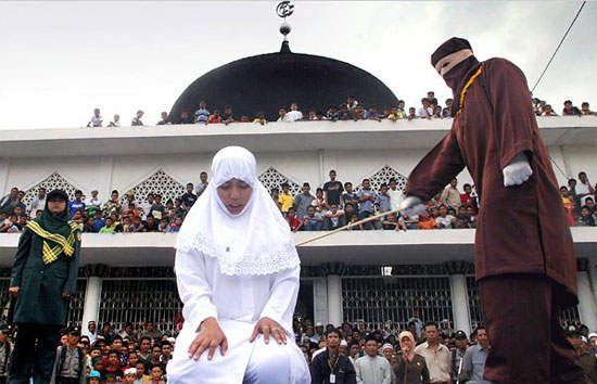 Sharia-Indonesia-Caning