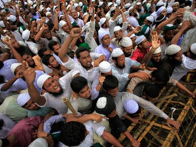 Musulmans-en-colere