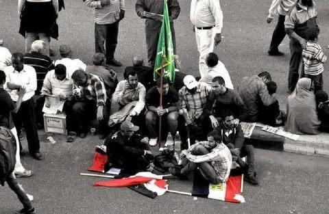 Egypte-drapeaux