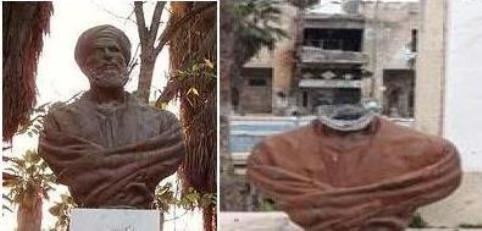 Syrie-statue-poete