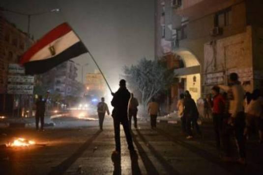 Egypte-effondrement
