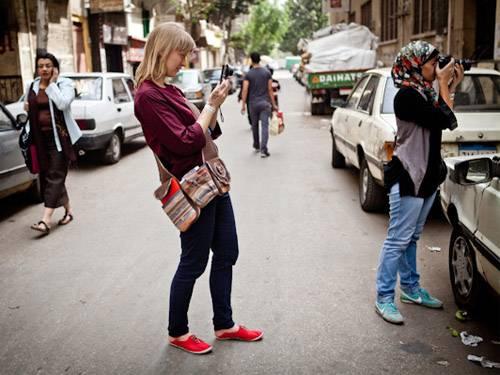 Egypte-journaliste-neerlandaise