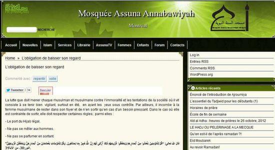 Quebec-assuna-fatwa-baisser-regard