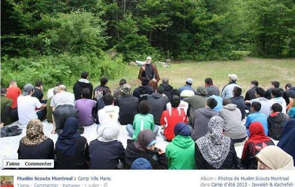 Muslim Scouts Mtl ayatollah