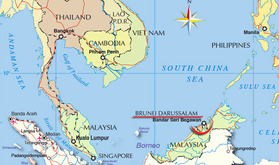 Brunei_carte