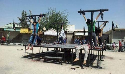 Califat-crucifixions
