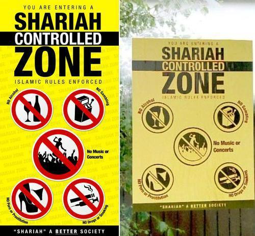 Sharia-control-zone