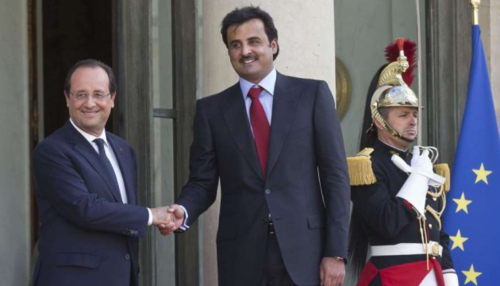 Hollande-emir-du-qatar