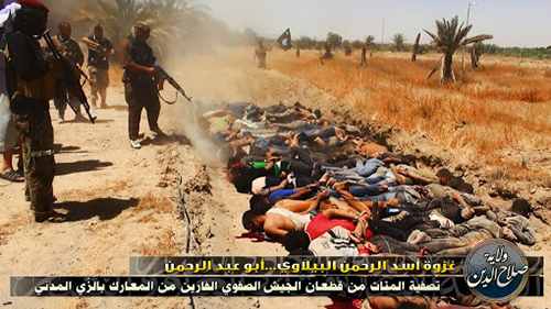 Isis-massacres