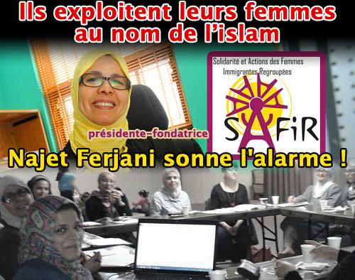 Montréal la présidente d un groupe de défense des femmes