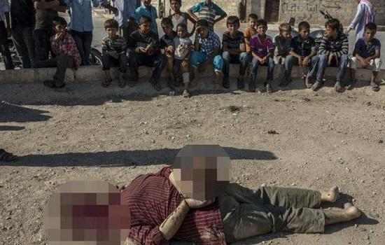 Enfants-decapitation