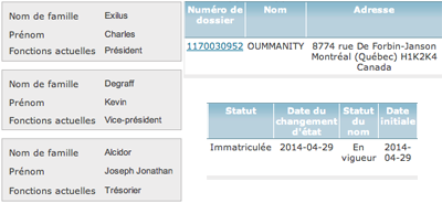 Oummanity_ficher_registre