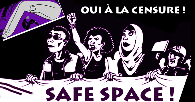 Safe-space-censure
