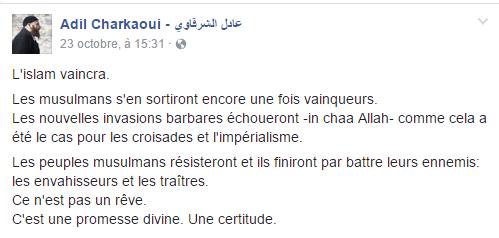 Charkaoui-fascisme